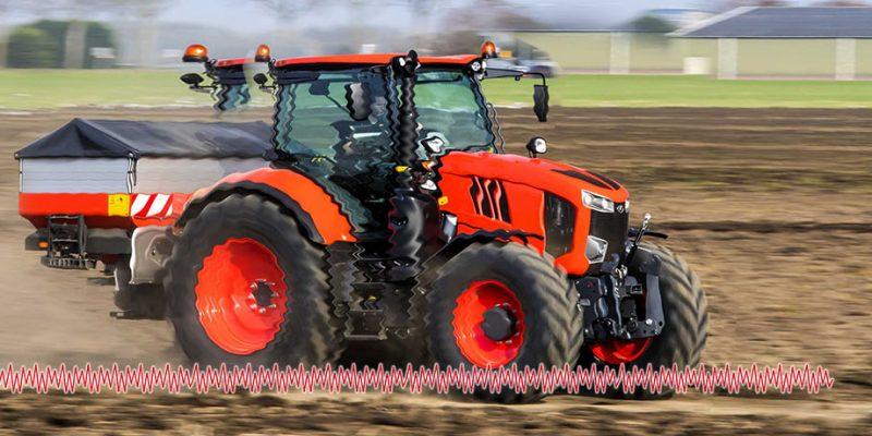 La vibración mecánica en tractores